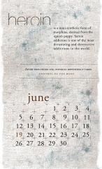 side effects calendar • heroin [june]