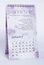 side effects calendar • addiction [january] photo