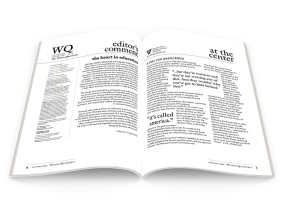 wilson quarterly type redesign