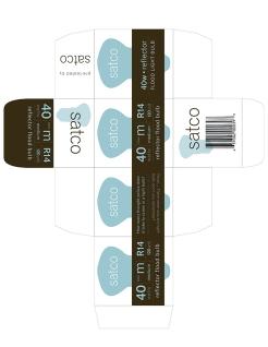 satco lightbulb package design 1