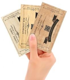 Cirqusoria Business Cards