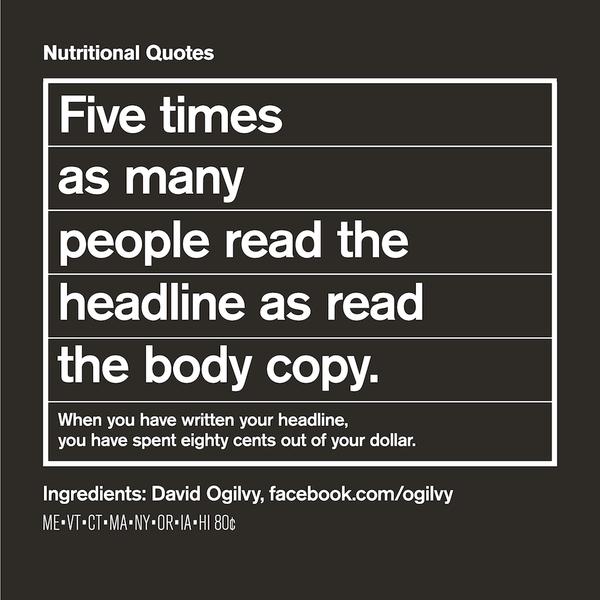 Headline quotes