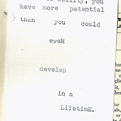 potential quote typewriter scan