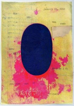 rumi quote typewriter scan