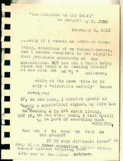 the self typewriter scan
