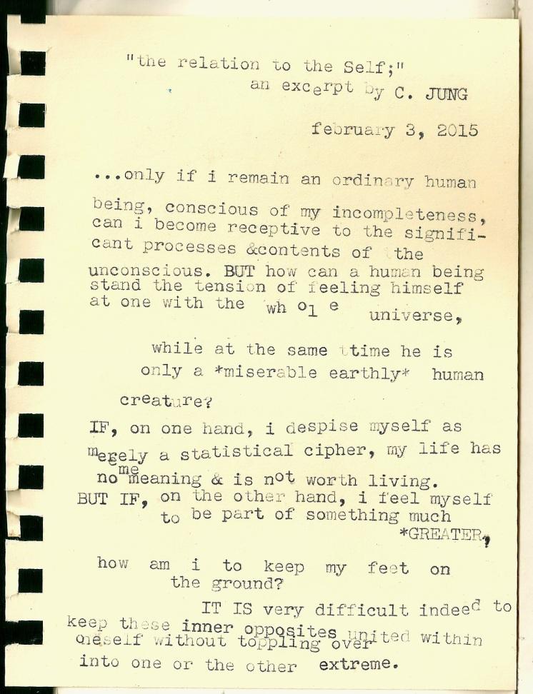 the self typewriter scan