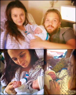my beautiful friends serena & aj brought this precious child into the world this past sunday, the 14th. Gloria Fox <3